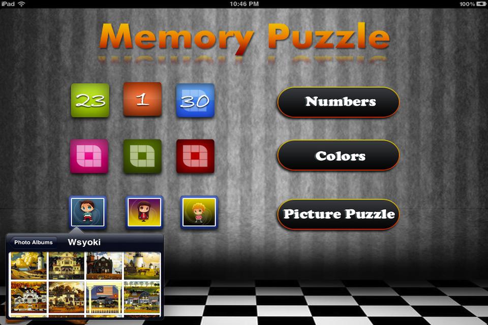 Screenshot Memory Puzzle